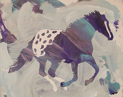 Painting - Appaloosa Dreams by Candace Shrope