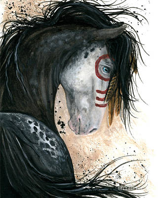 Appalossa Horse Art Print by AmyLyn Bihrle