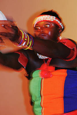 Photograph - Appeasing The Gods by Muyiwa OSIFUYE