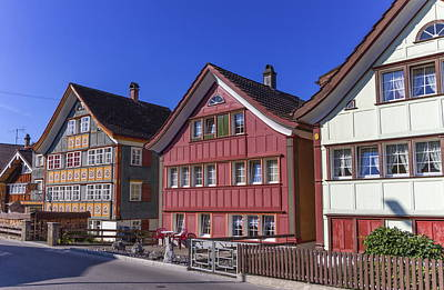 Photograph - Appenzell Traditional Houses, Switzerland by Elenarts - Elena Duvernay photo