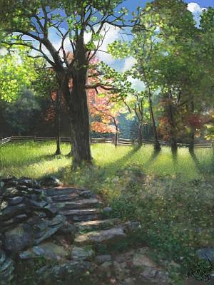 Applaclacian Spring Art Print