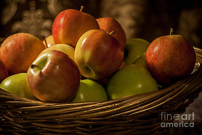 Photograph - Apple Basket by Mechala Matthews