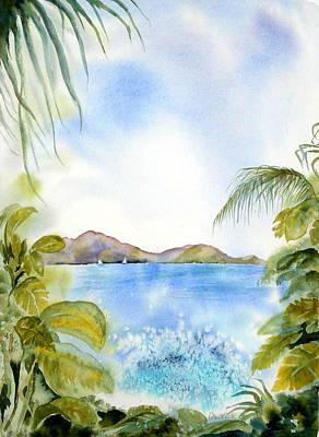 Painting - Apple Bay Wave by Diane Kirk