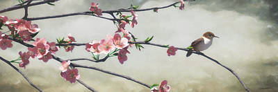 Digital Art - Apple Blossom by Cynthia Decker
