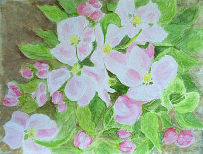Painting - Apple Blossom, Spring Herald by Stephanie Grant
