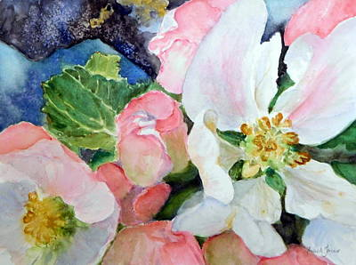 Painting - Apple Blossom Time by Anna Jacke