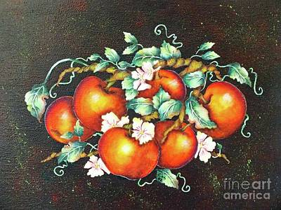 Madonna - Apple Blossom Time by Cindy Treger