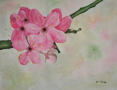 Painting - Apple Blossom Time by Jim Brage
