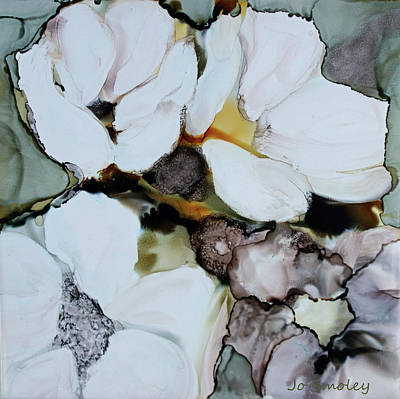 Painting - Apple Blossoms by Joanne Smoley