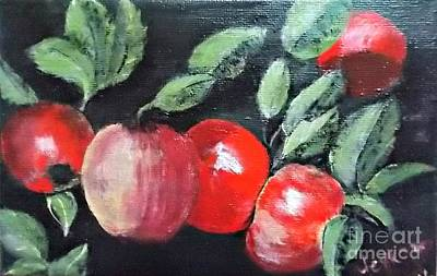 Painting - Apple Bunch by Francine Heykoop