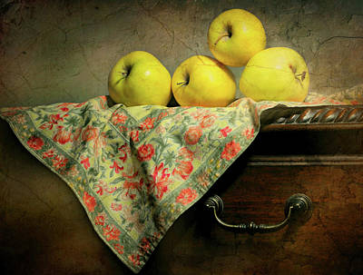 Photograph - Apple Cloth by Diana Angstadt
