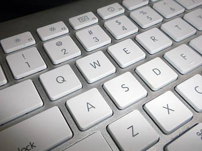 Apple Computer Keyboard Art Print by Thomas Woolworth