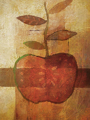 Painting - Apple Fineart by Lutz Baar