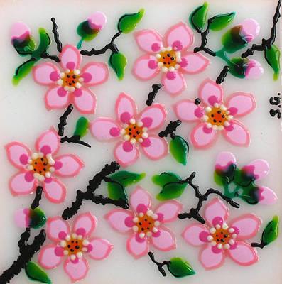 Apple Flower Art Print by Gabriela Stavar