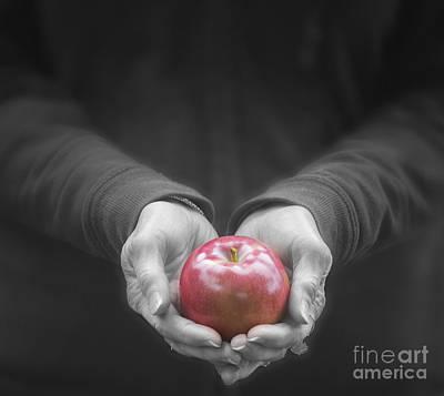 Apple For You Art Print by Juli Scalzi