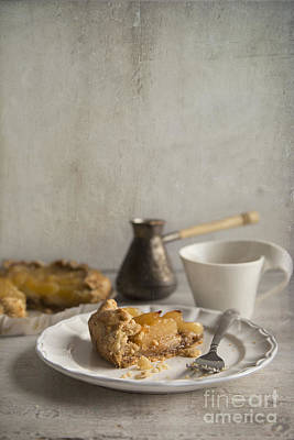 Photograph - Apple Galette by Elena Nosyreva