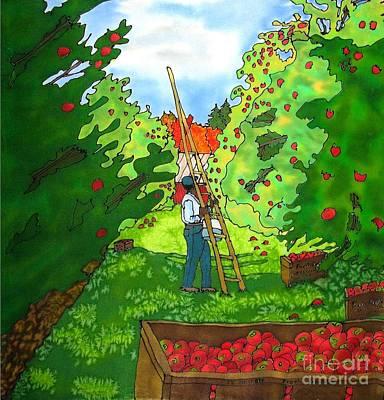 Apple Harvest Art Print by Linda Marcille
