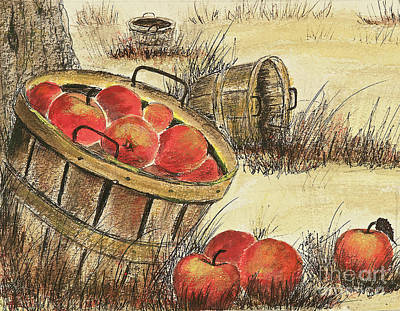 Painting - Apple Harvest by Pati Pelz