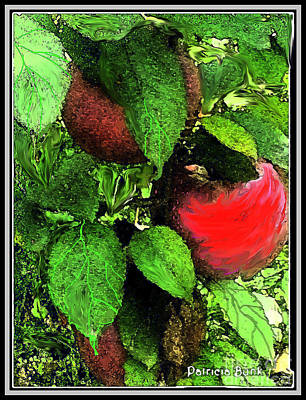 Mixed Media - Apple Harvest  by Patricia Bunk