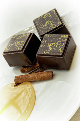 Photograph - Apple Honey Cinnamon Chocolate by Sabine Edrissi