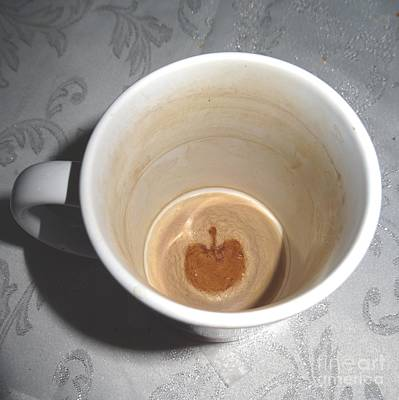 Photograph - Apple In A Mug by Karen Jane Jones