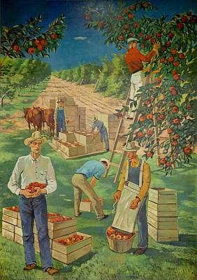 Apple Industry Art Print
