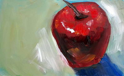 Painting - Apple by Katy Hawk