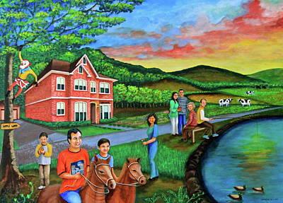Painting - Apple Land by Lorna Maza