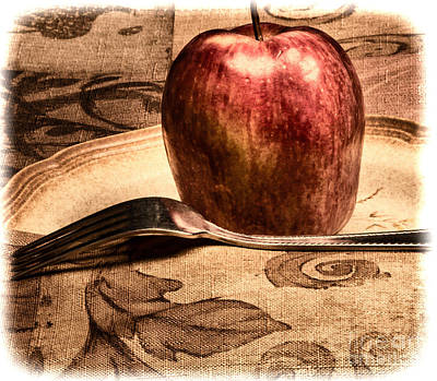Photograph - Apple by Lawrence Burry