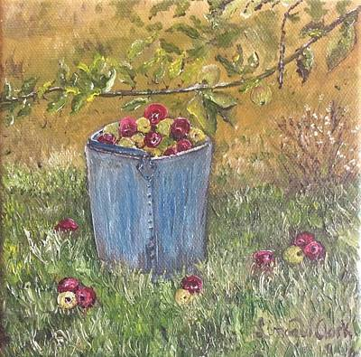 Painting - Apple Pickin'  by Linda Clark