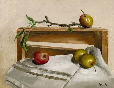 Painting - Apple Pickins by Grace Diehl