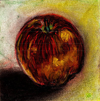 Apple  Art Print by Rashmi Rao