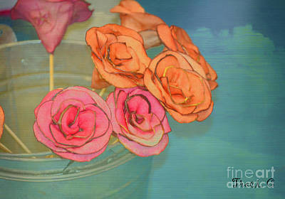 Art Print featuring the photograph Apple Roses by Traci Cottingham