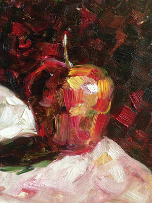 Impressionism Painting - Apple  by Roxy Rich
