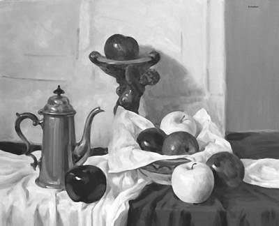 Painting - Apple Service by Robert Holden