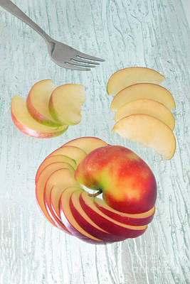 Photograph - Apple Slice by Ana Mireles