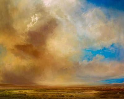 Landscapes Mixed Media - Apple Valley by Lonnie Christopher