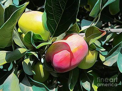 Digital Art - Apples 02 ...26.47 Apple Fruits by S Art