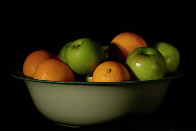 Photograph - Apples And Oranges by Angie Tirado