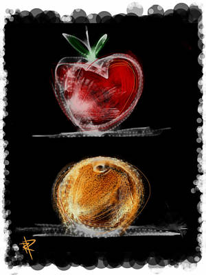 Apples And Oranges Art Print