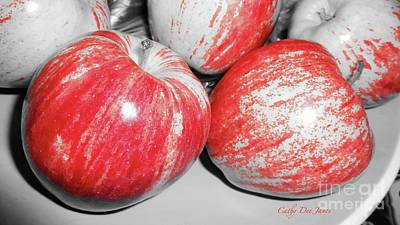 Photograph - Apples by Cathy Dee Janes