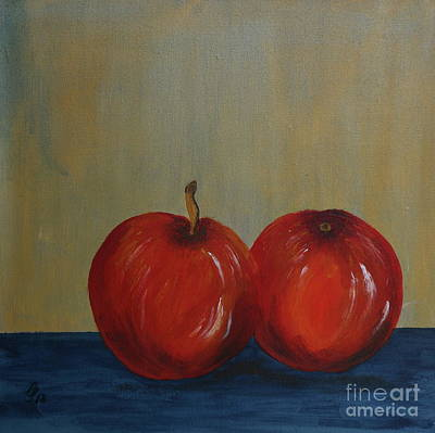 Painting - Apples  by Christiane Schulze Art And Photography