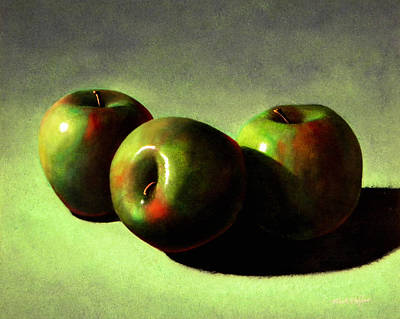 Painting - Apples by Frank Wilson