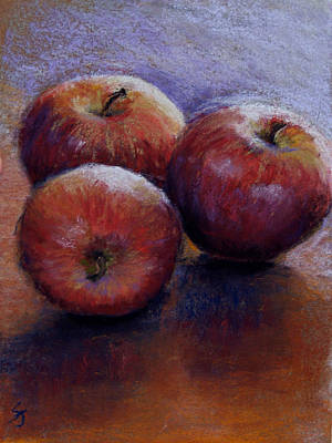 Apples IIi Art Print by Susan Jenkins