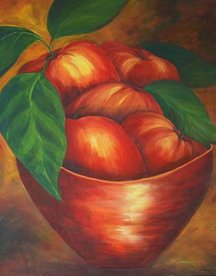 Painting - Apples by Linda Bein