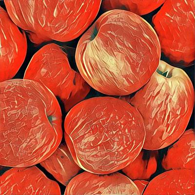 Wall Art - Photograph - Apples by Mary McGrath