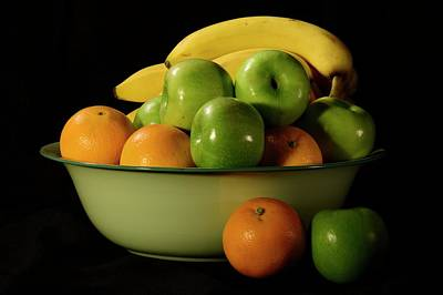Photograph - Apples, Oranges And Bananas 2 by Angie Tirado