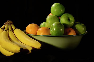 Photograph - Apples, Oranges And Bananas 3 by Angie Tirado