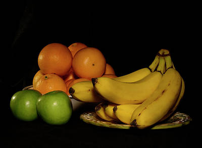Photograph - Apples, Oranges And Bananas 4 by Angie Tirado