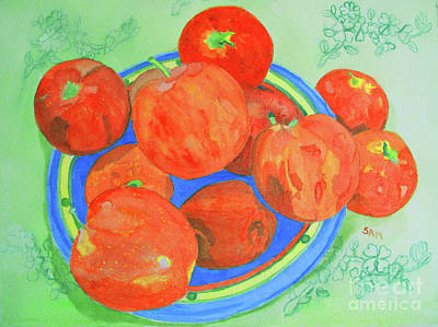 Painting - Apples by Sandy McIntire